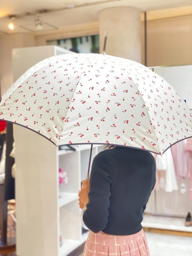 because 傘☂️