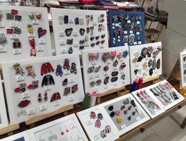 明日から!!刺繍ブローチコレクション開催です!