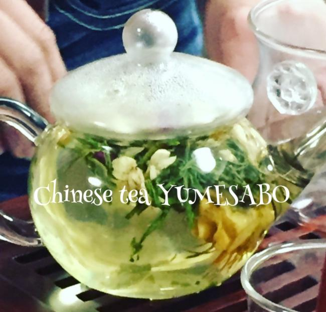 ◇花茶◇玫瑰花茶と茉莉花茶