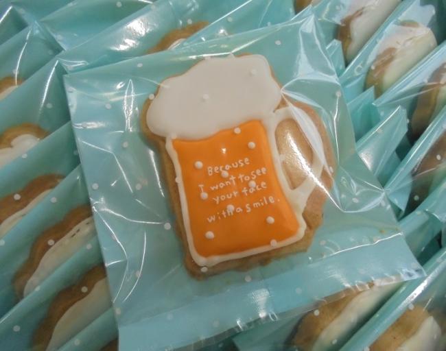 アイシングクッキー【ビールジョッキ】