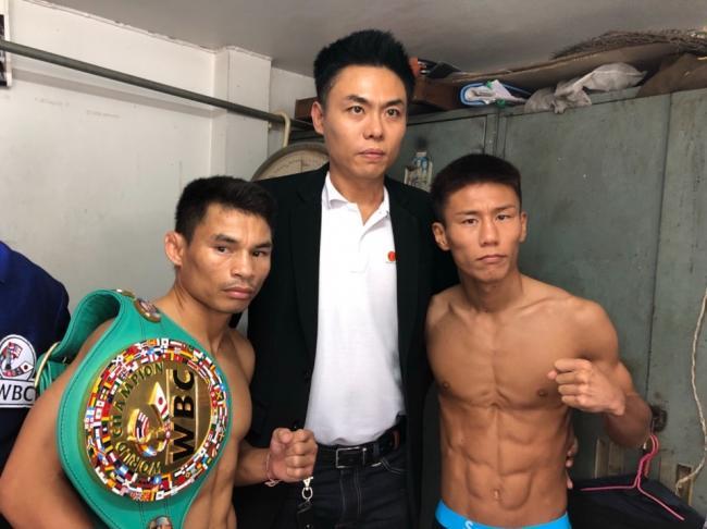 ボクシング世界タイトル戦