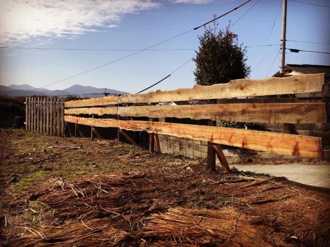 リカバリーファームプログラム「釜戸作りと柵作り」