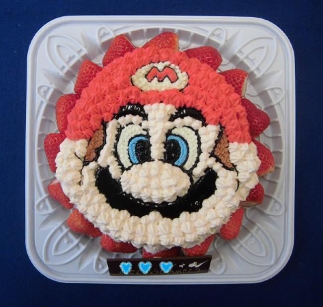 立体ケーキ【スーパーマリオブラザーズ マリオ】