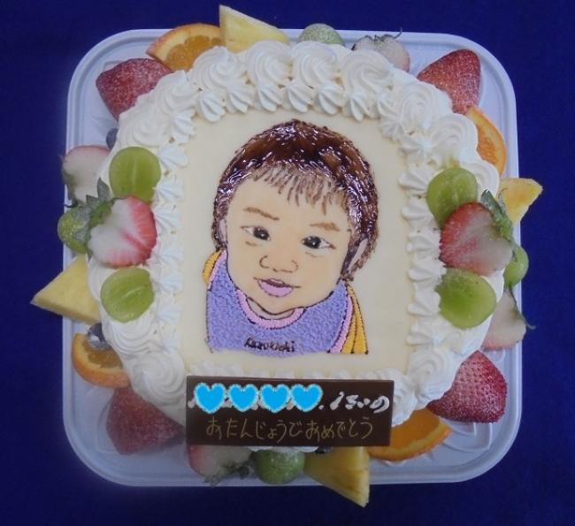 似顔絵ケーキ【Kくん・三浦春馬さん・U部長】