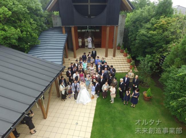 【撮影】結婚式の撮影を行いました